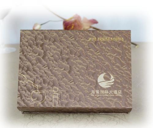 海景国际大酒店在百诣酒具定制的礼品案例