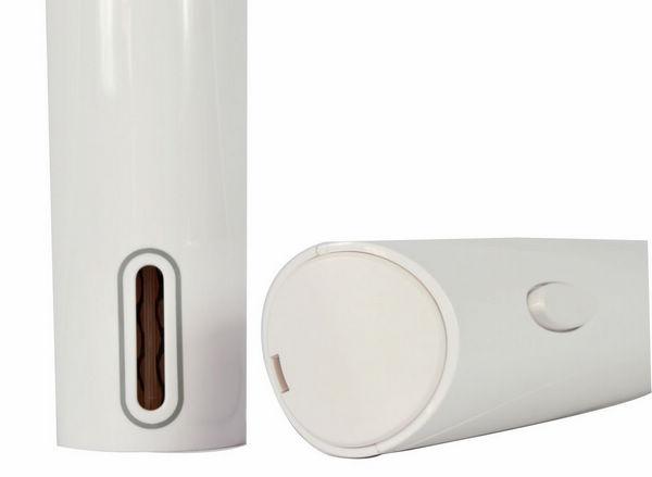 百诣白色干电池电动开瓶器