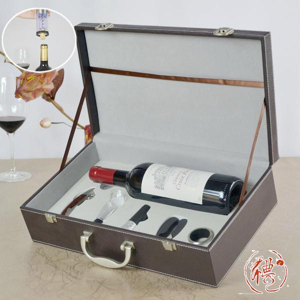 百诣红酒酒箱BY709