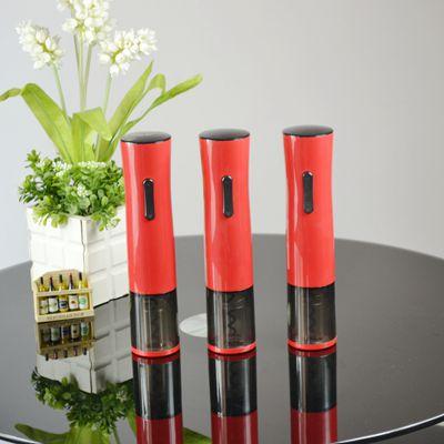百诣黑红时尚小蛮腰充电电动开瓶器