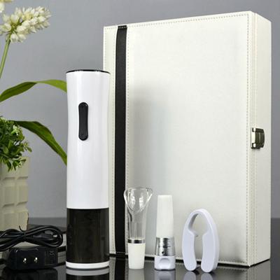 百诣黑白经典时尚充电开瓶器五件套BY200