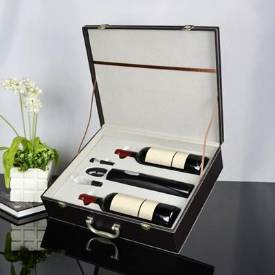 百诣干电池电动开瓶器酒箱2件套BY717