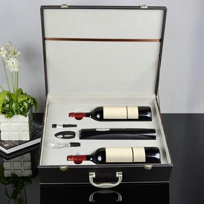 百诣干电池电动开瓶器酒箱BY717,定制LOGO礼品方案