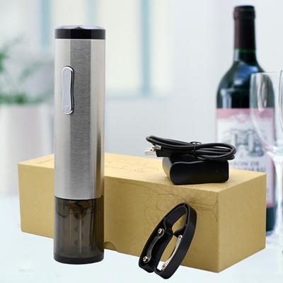 2017年新款红酒不锈钢电动开瓶器