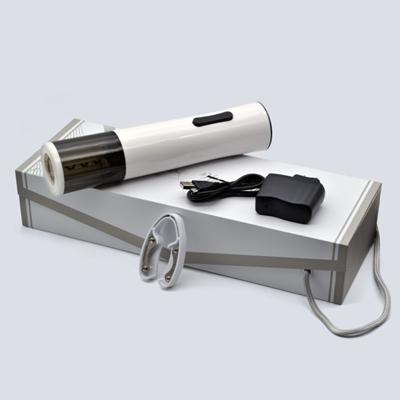 百诣黑白经典时尚充电开瓶器四件套BY229