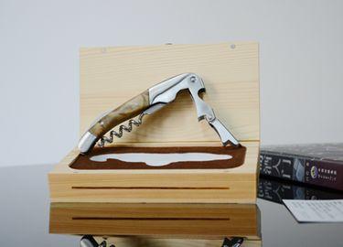 百诣影木精品酒刀木盒单件套BY622