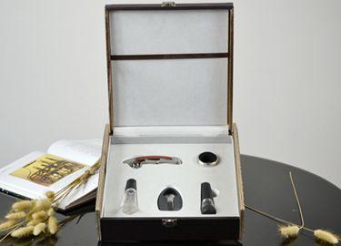 百诣花梨木酒刀(升级版皮盒5件套)BY617