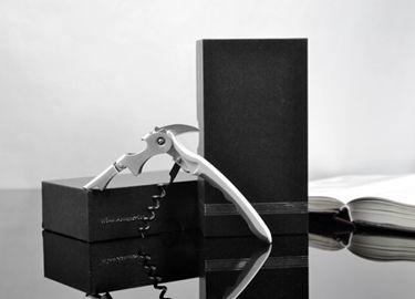 百诣双色多功能不锈钢葡萄酒酒刀BY624(纸盒单件套)