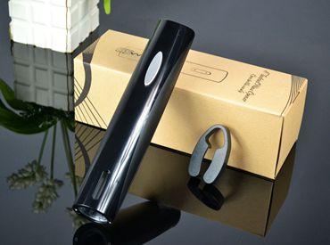 百诣黑色干电池 电动开瓶器2件套BY222