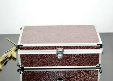 百诣2015新款铝合金双支红酒箱 葡萄酒酒箱 红酒包装盒BY723