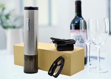 百诣新款红酒不锈钢电动开瓶器