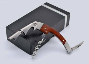 百诣花梨实木酒刀(升级版纸盒单件套)BY612