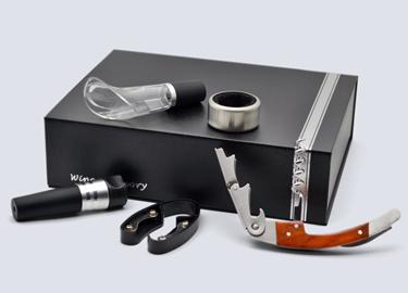 百诣花梨木酒刀(升级版纸盒5件套)BY609